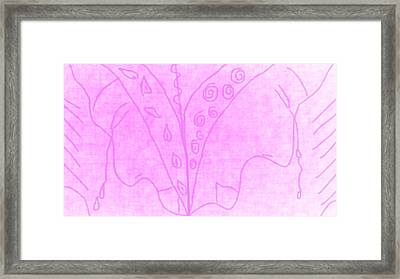 Tears Of Mother Earth East And West Framed Print by Rosana Ortiz