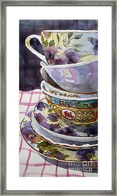 Teatime Framed Print by Marisa Gabetta