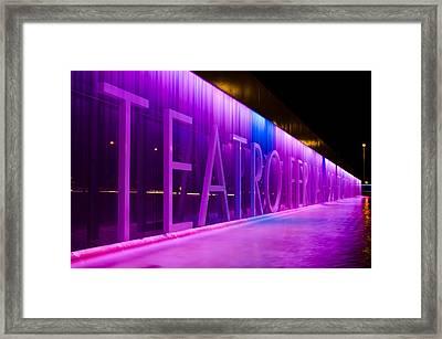 Teatro Fernan Gomez Framed Print by Pablo Lopez
