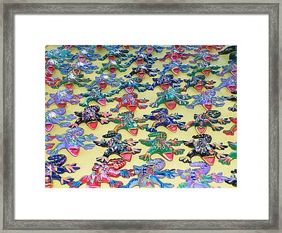 Framed Print featuring the photograph Technicolour Nightmare by Brian Boyle