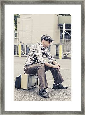Technology Grief Framed Print by Jorgo Photography - Wall Art Gallery