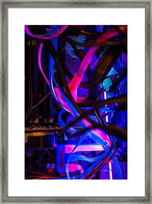Technology Framed Print by Mike Lee