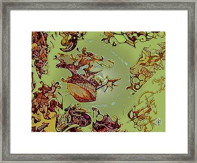 Tectonic Framed Print