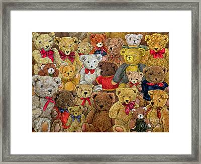 Ted Spread Framed Print