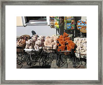 Framed Print featuring the photograph Teddy by Art Photography