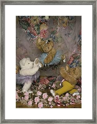 Teddy Bear Ballet Framed Print