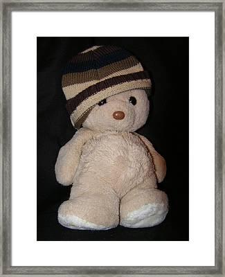 Teddy Wants To Hug You Framed Print by Catherine Ali