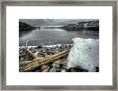 Tee Harbour The Southwestern Bay Framed Print