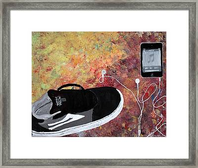 Teenage Floor Framed Print
