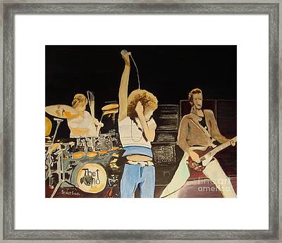 Teenage Wasteland Framed Print