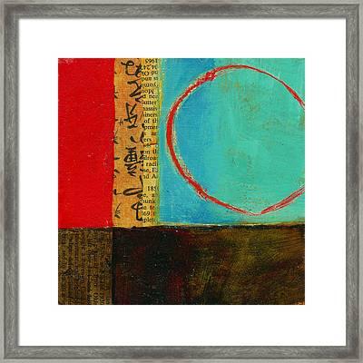 Teeny Tiny Art 113 Framed Print by Jane Davies