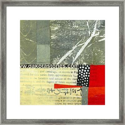 Teeny Tiny Art 119 Framed Print by Jane Davies