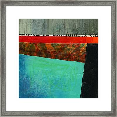 Teeny Tiny Art 122 Framed Print by Jane Davies