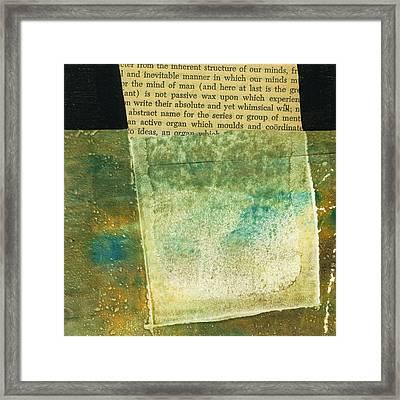 Teeny Tiny Art 124 Framed Print by Jane Davies