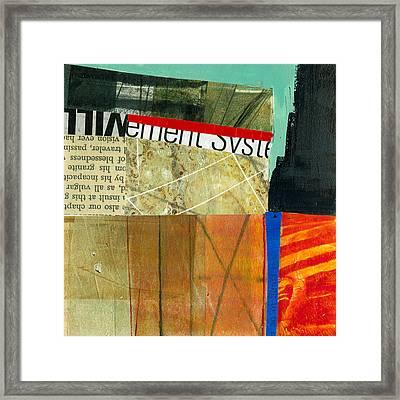 Teeny Tiny Art 75 Framed Print by Jane Davies