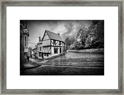 Framed Print featuring the photograph Teetering On The Edge Of History by Russell Styles