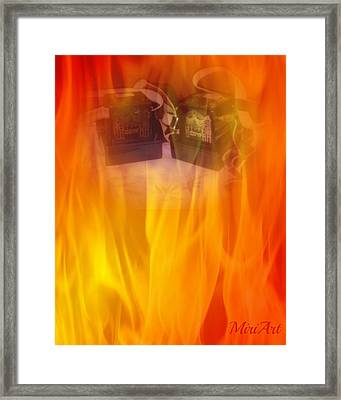 Tefillin Are Called Glory Framed Print by Miriam Shaw