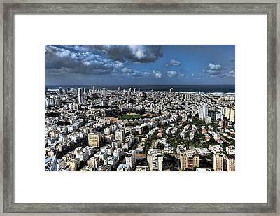 Tel Aviv Center Framed Print