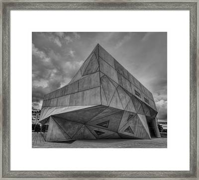 Framed Print featuring the photograph Tel Aviv Museum  by Ron Shoshani