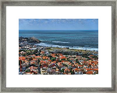 Framed Print featuring the photograph Tel Aviv Spring Time by Ron Shoshani