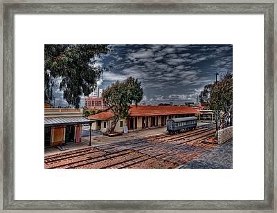 Framed Print featuring the photograph Tel Aviv To Jerusalem by Ron Shoshani