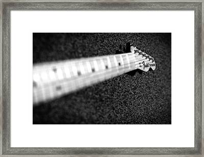 Telecaster Framed Print by Mark Rogan