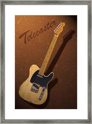 Telecaster Framed Print by WB Johnston