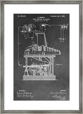 Telegraph Framed Print by Dan Sproul