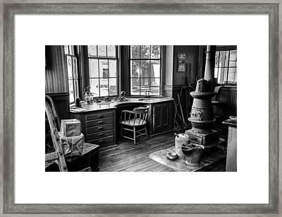 Telegraph Office Framed Print