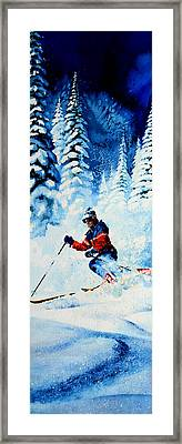 Telemark Trails Framed Print