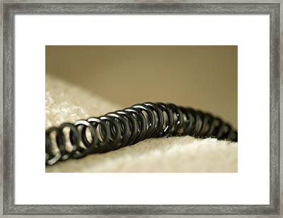 Telephone Cord Framed Print