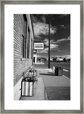 Telephone Museum Framed Print