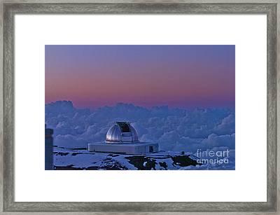 Telescope Framed Print by Karl Voss