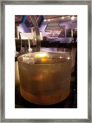 Telescope Mirror Core Framed Print by Science Photo Library