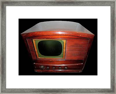 Television Manufactured By Philco Framed Print by Universal History Archive/uig