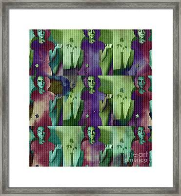 Teller / Early Shadows X9 Framed Print