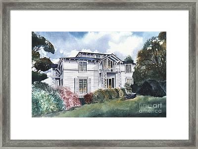 Tellico Johnson Mansion  Framed Print