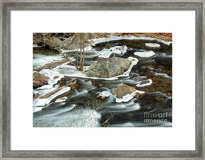Tellico River Framed Print by Douglas Stucky