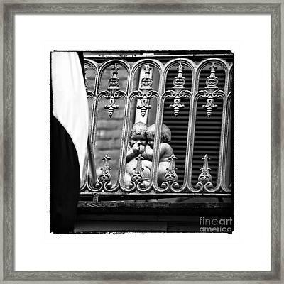 Telling Secrets Framed Print by John Rizzuto