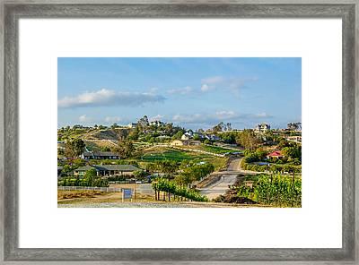 Temecula Valley Framed Print