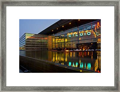 Tempe Center For The Arts Framed Print by Dave Dilli