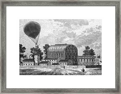 Tempelhof Airfield Framed Print by Bildagentur-online/tschanz