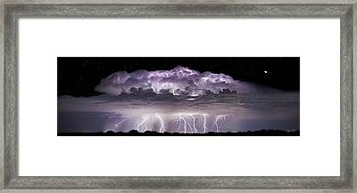 Tempest - Craigbill.com - Open Edition Framed Print by Craig Bill