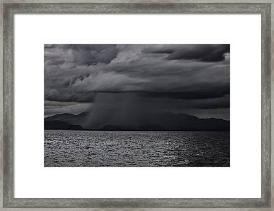 Tempest  Framed Print by Kandy Hurley