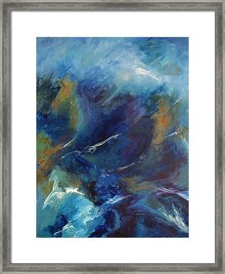 Tempest-sold Framed Print by Lou Cicardo