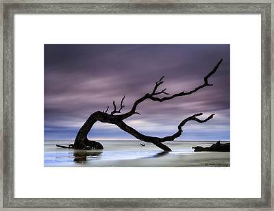 Tempest Tossed Framed Print