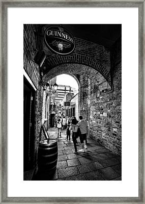 Temple Bar Dublin Ireland Framed Print