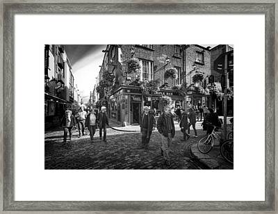Temple Bar Framed Print