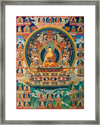 Temple  Framed Print by Corporate Art Task Force