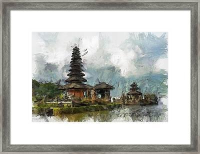 Temple Framed Print by Georgi Dimitrov